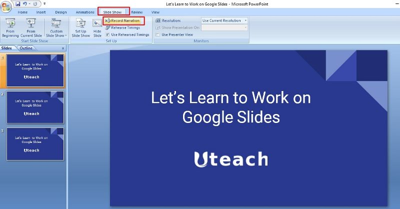How to add voice to PowerPoint