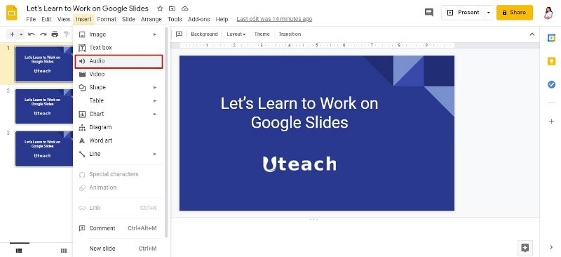 How to Add Voice to Google Slides